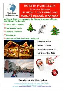 Marché de Noël à Annecy