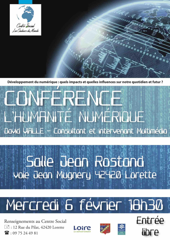 Conférence : l'humanité numérique